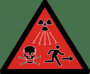 nova znacka radioaktivneho ziarenie