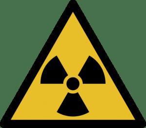 znacka radioaktivne ziarenie