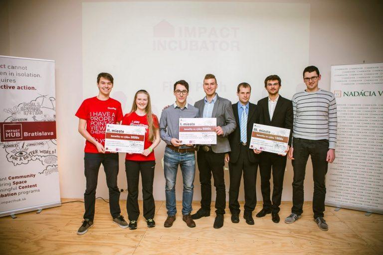 ChemPlay Ivana Kravárová víťaz súťaže Impact Inkubátor HUB 2015
