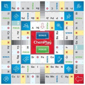 didaktická dosková hra Chemplay hrací plán víťaz Ivana Kravárová vzdelávanie chémia objednaj