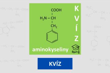 aminokyseliny - kvíz