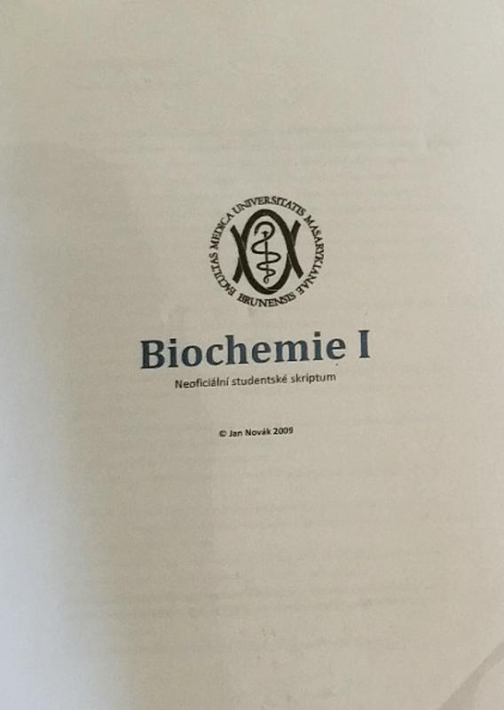 biochemie medicína Novák brno blog