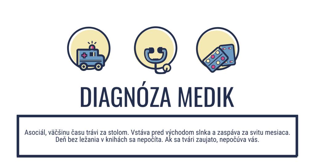 diagnóza medik
